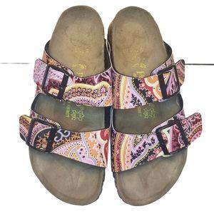 Papillio Paisley Sydney Double Strap Sandals